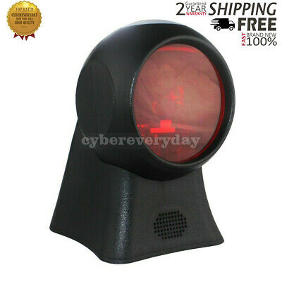 Orbit Barcode Scanner Handsfree 1D Wired 20 Laser 1500 Lines/s w/2M USB Cable