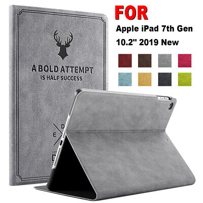 Smart Tablet Case Leather Magnetic Flip Stand Cover For Apple iPad 7th Gen 10.2