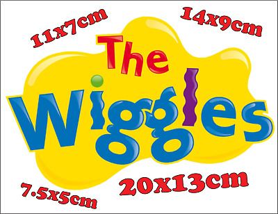 Wiggles Logo Iron On Transfer For Costume Dress Up (Any Colour Fabric / Pre-Cut)