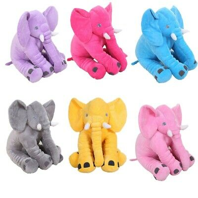 Baby Elephant Plush Toy Cute Toys Gift Purple Elephant Stuffed Doll HJH