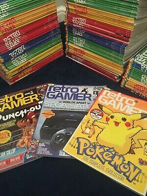 Retro Gamer Magazine Collection - Nearly 160 Issues