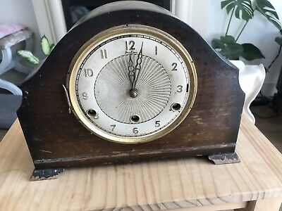 Edwardian Chiming Clock, Parts Only, Not Working,Collection Only B68 Birmingham