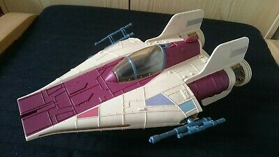 A-Wing Fighter DROIDS komplett 1985 Star Wars Vintage