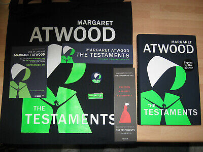 Margaret Atwood The Testaments Signed 1st/1st Booker Prize Winner 2019 99p start