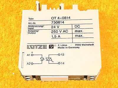 RELAY VARIOCOMPACT RE3-4-001//2 220VAC 250V 1000VA 50W LUTZE ID21843