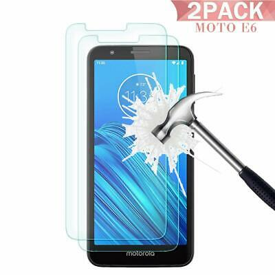 NEW GORILLA TEMPERED GLASS FILM SCREEN PROTECTOR FOR MOTOROLA E6 , E6 Plus 2019