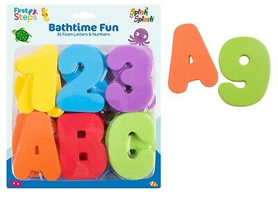Baby bath magnetic foam letters and numbers for children toy net set kids toy
