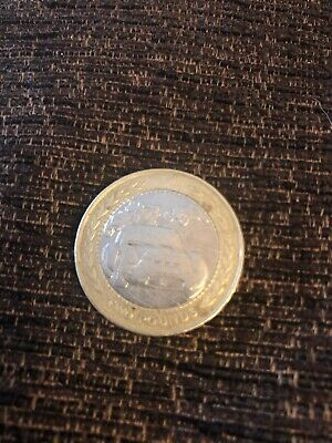 "Two pound coin- Isle of Man "" Car Rally"" £2 coin  dated 1998 circulated"