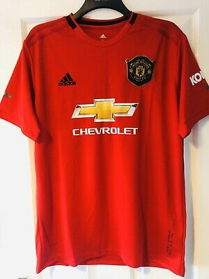Manchester United Home Shirt 2019/2020. Size X Large (XL)