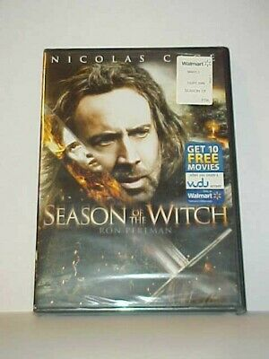 Season of the Witch [DVD] New and Sealed (Nicolas Cage, Ron Perlman)