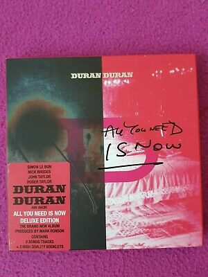 "Duran Duran ""ALL YOU NEED IS NOW"" NEUW.! 2 Bonus Tracks+2 High Quality Booklet"