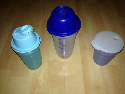 Tupperware, Mix Fix,Schüttelbecher 500 ml Shaker 250ml Becher