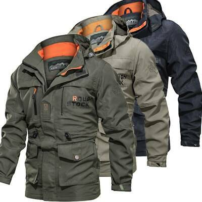 Men's Waterproof Winter Outdoor Combat Tactical Coat Soft Shell Military Jackets