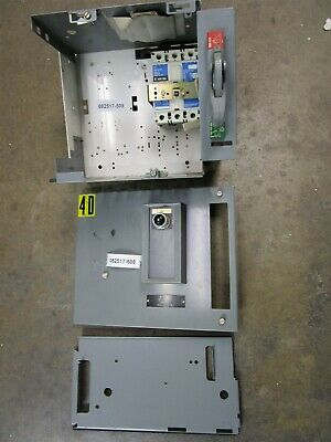 Allen Bradley 2100 MCC 12in breaker feeder bucket 100 amp HFD3100