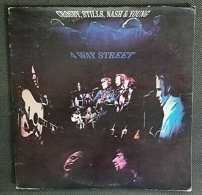 "Crosby Stills Nash & Young ""4 Way Street"" -- 1971 Atlantic vinyl LP – #ST 2-902"