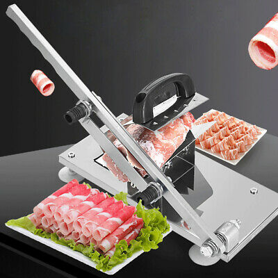 Manual Meat Slicer Cheese Bread Ham Bacon Cutting Machine Home Cutting Cutter