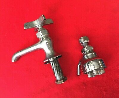 Vtg Wolverine Brass Hot Water Faucet & Speakman-Style Shower Head Made In Japan