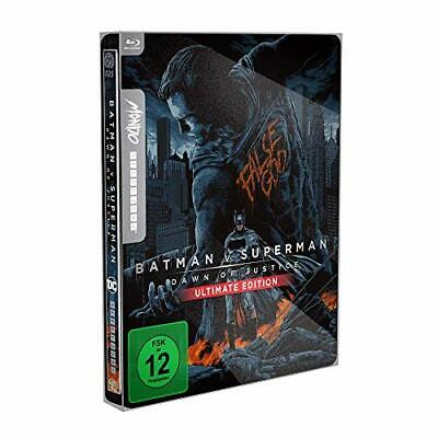 Batman V Superman (Steelbook Mondo) (2 Blu-Ray) - (Italian Import) BLU-RAY NUOVO