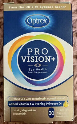 Optrex Pro Vision Eye Health Food Supplement - 30 Liquid Capsules One A Day