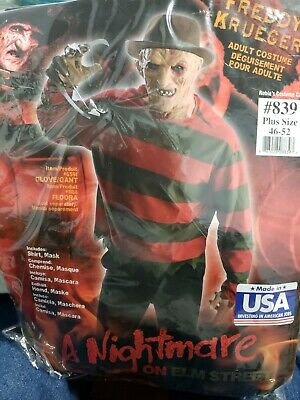 Plus Size Striped Sweater For Nightmare On Elm Street Freddie Kruger Halloween C