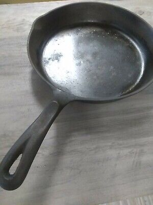 """WAGNER'S"" 1891 ORIGINAL 10 1/2"" CAST IRON SKILLET Made in USA"