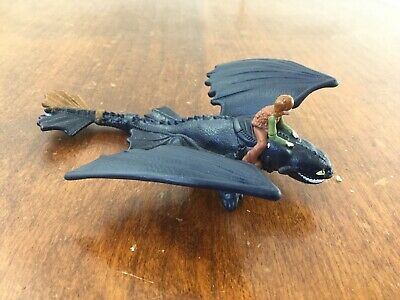 Dreamworks How To Train Your Dragon Plastic Figure Hiccup & Toothless