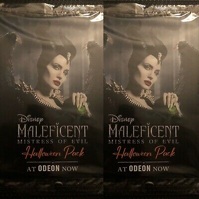 2 X Maleficent Mistress Of Evil Halloween Pack 3 A4 pages included