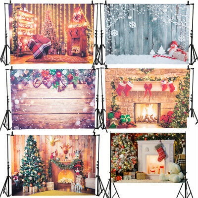 NEW Christmas Theme Background Flower Photography Backdrop Studio Decor AU STOCK