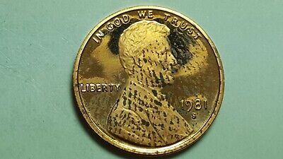 1981-S Proof Lincoln Cent Type 1 /& Type 2 Deep Cameo Brilliant Uncirculated