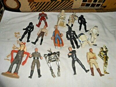 Star Wars 90'S Lot Of Figures Very Nice Free Ship Added More  Items And Pics