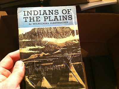 51117 old  book indians of the plains wilhelmina slootmacher 1939