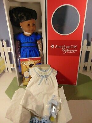 """AMERICAN GIRL Beforever ADDY WALKER DOLL 18"""" AND Nightgown NIB Volume 1 book"""