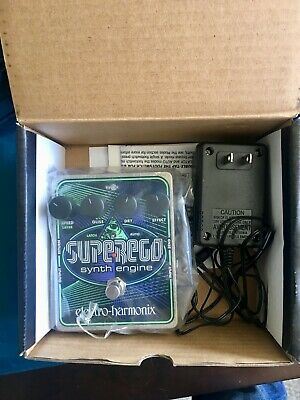 "Electro-Harmonix Super Ego Looper Guitar Effect Pedal ""MINT condition"""