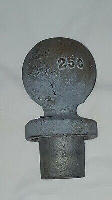 Vintage Old Cast Iron / Steel Fence Post Finial Architectural Salvage Topper 25C