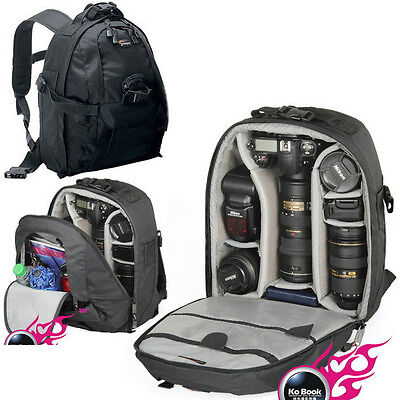 New Lowepro Mini Trekker AW Waterproof DSLR Camera Bag Backpack Rucksack Laptop