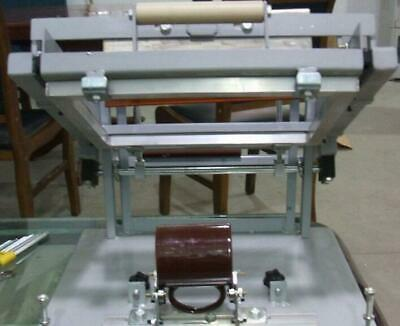 Bottle/cup/pen surface curve press Manual screen cylinder printing machine -New