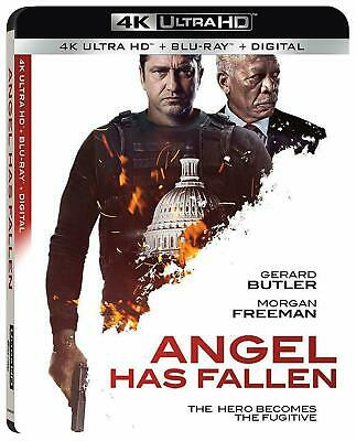 Angel Has Fallen-4K Disc Only with Case/artwork/Slip Cover-No Blu Ray or Digital