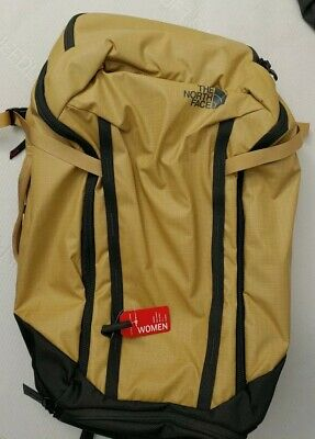 The North Face Womens Stratoliner Backpack Antelope Tan 40 Liters
