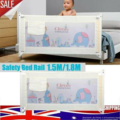 AU Safety Cot/Bed Rail Guard Bedguard Protection for Baby Infant Toddler Kids