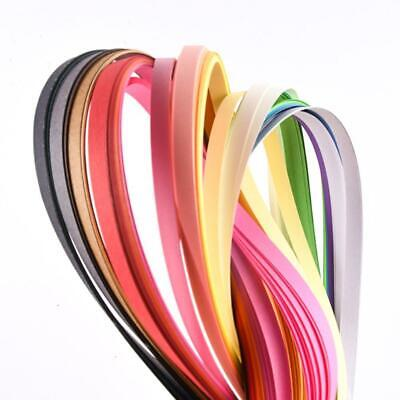 180 Stripes Quilling Paper 3-7mm Width Mixed Color For DIY 36 Colors Craft N3J4