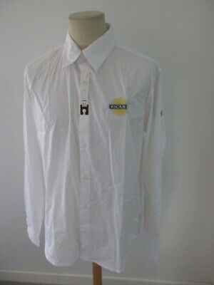 Shirt Ricard Staff White Size XL