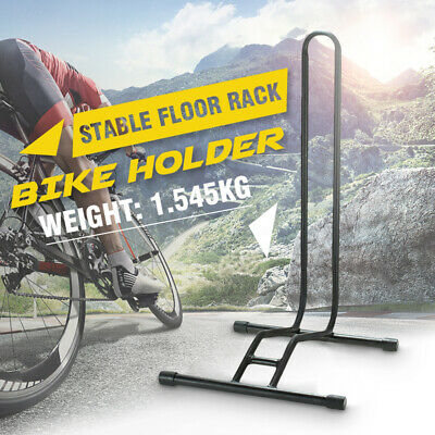 Bicycle Cycling Bike Display Stand Floor Wheel Parking Rail Rack Holder Hanger