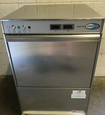 COMMERCIAL Kitchen Cafe Restaurant DUO 750 CLASS EQUnder bench dishwasher