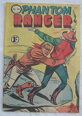 Phantom Ranger #155 (Australian - Tricho) VG condition