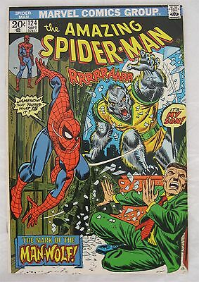 The Amazing Spider-Man #124 (US - Marvel) F+ condition