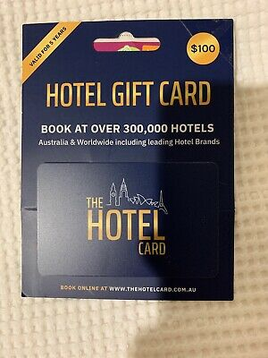 The Hotel Card $100 - Gift Card Brand New 5 Year Expiry
