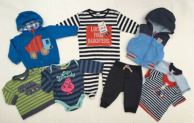 Boys ~ Age 3-6 Months ~ Clothing Bundle ~ 8 Items inc Brand New
