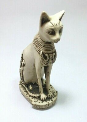 ANCIENT EGYPTIAN ANTIQUE STATUE Of Figurine Egypt Cat Goddess Bast Bastet