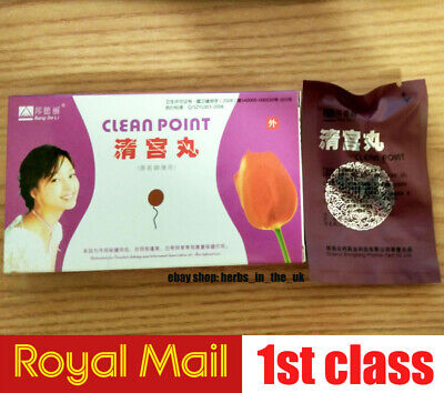 6 Pieces Original Feminine hygiene Swab Herbal Clean Point Beauty Herbal Tampon
