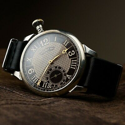 Marriage antiques watch Zenith mens military swiss vintage pocket swiss watch